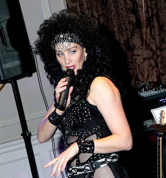 Cher look a like sing alike at Crathorne Hall