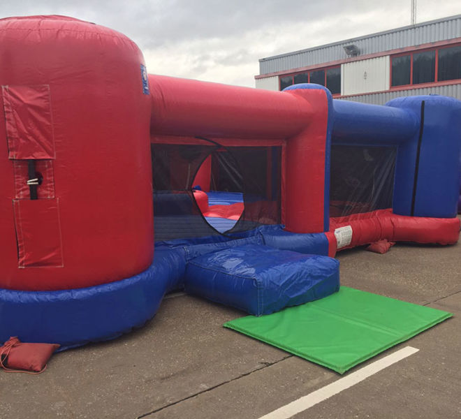 Corporate inflatable fun with Hungry Hippo's in Nottingham