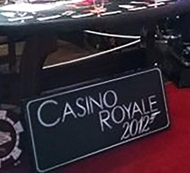James Bond props