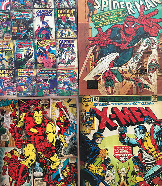 Comic-Book-Canvases