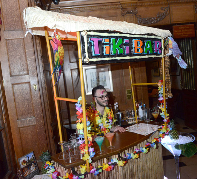 Hawian Theme Party at Crathorne Hall