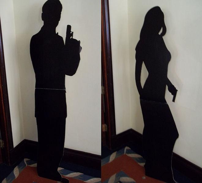 Lifesize-Bond-&-Bond-Girl-Silhouettes