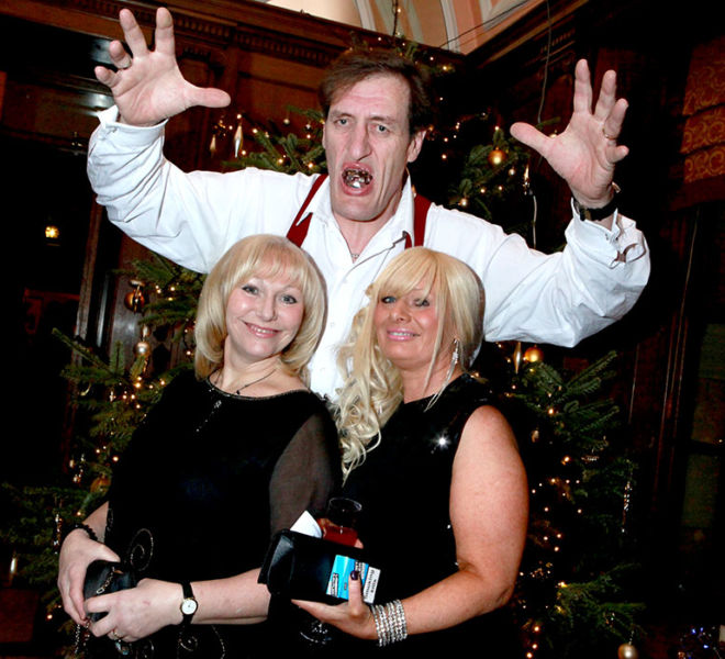 Jaws appears at Crathorne Hall Yarm for a Bond theme night