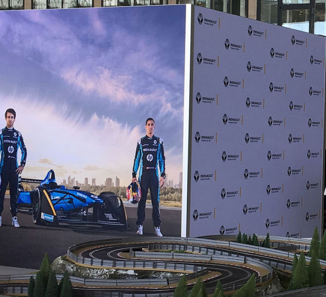 Motorsport-Backdrops