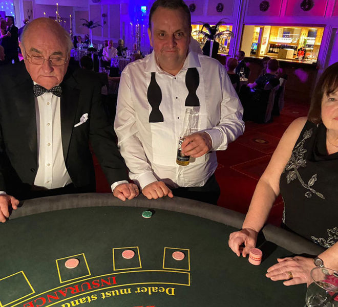 Fun casino table hire in the north east