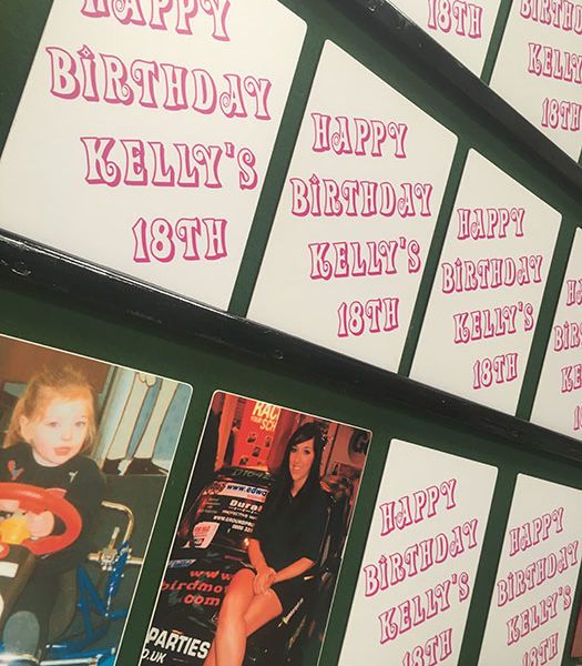 Birthday party game bespoke hire