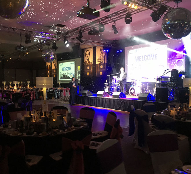 Charity ball themeing at Milton Keynes