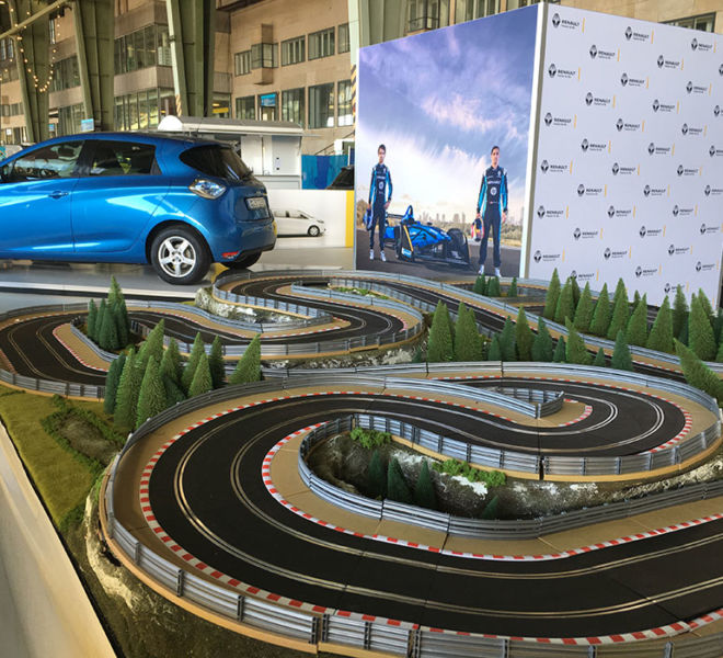 Scalextric hire in Germany