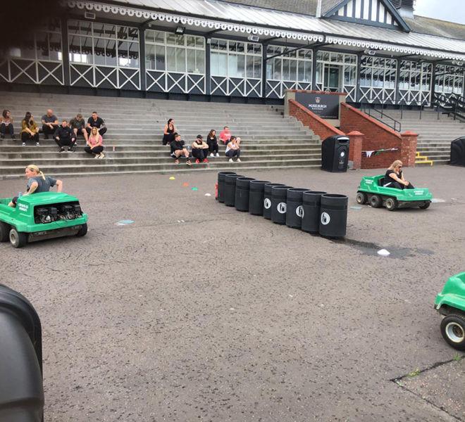 Corporate event at Musselburgh Racecourse near Edinburgh