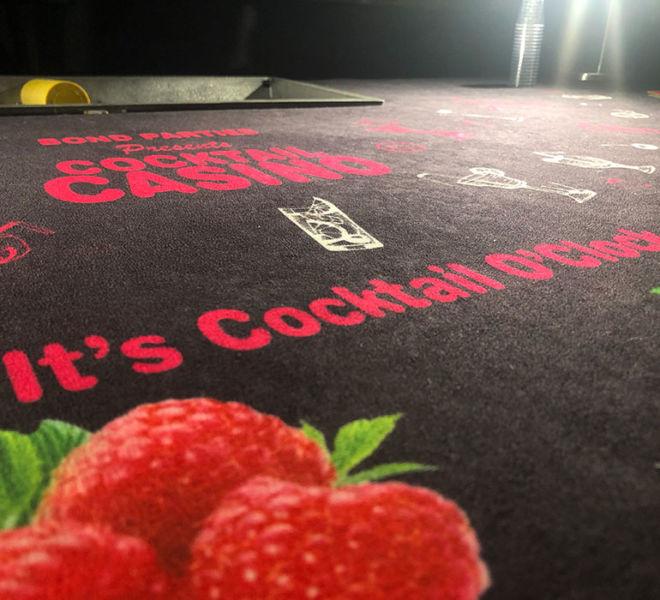 Cocktail Tasting fun casino table