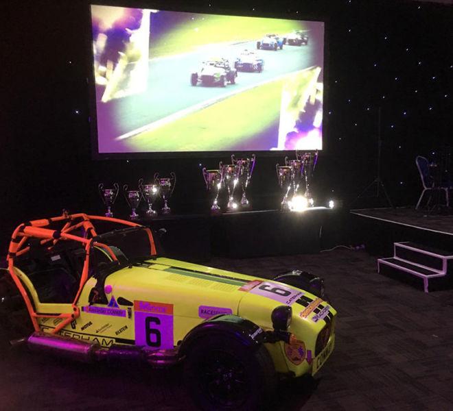 Caterham awards night in Loughbrough