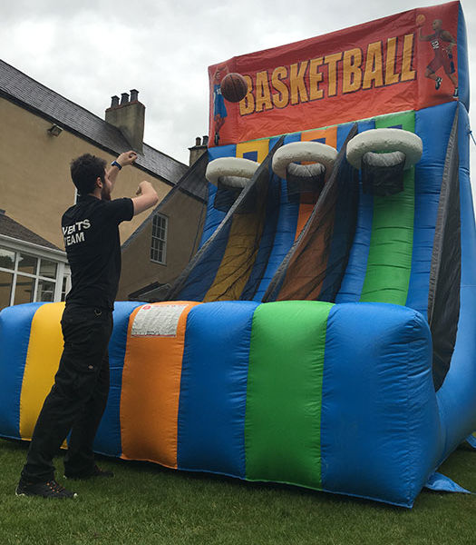 Inflatable Basket Ball Shootout