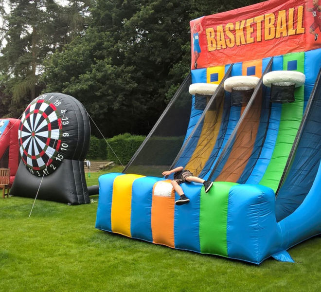 School sports day inflatables