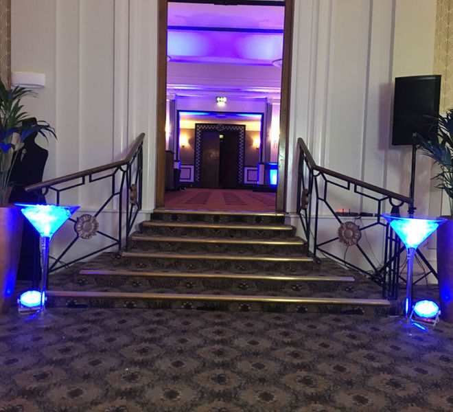 Entrance theme for a night at the Oscars in Leeds