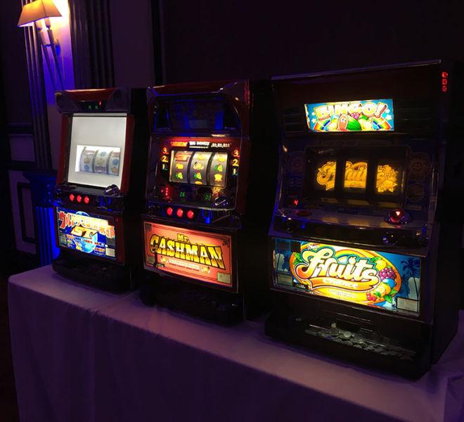 Token table top slot machines