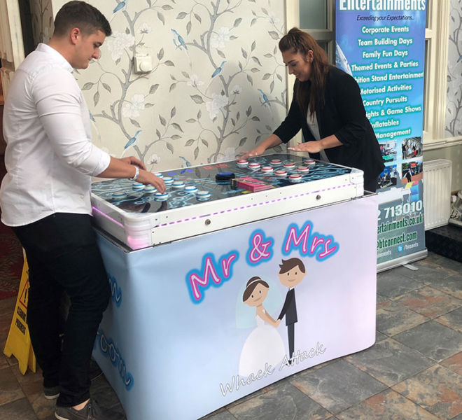 Wedding attraction games hire