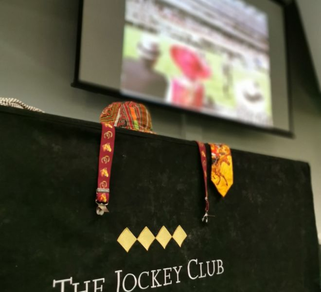 The jockey club at Aintree for a big screen race night