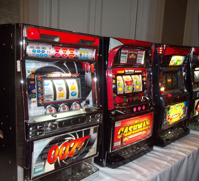 Table top slots hire