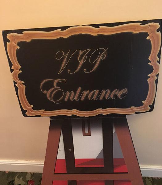 VIP-Entrance-Sign