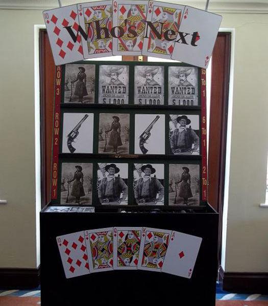 Western theme casino game