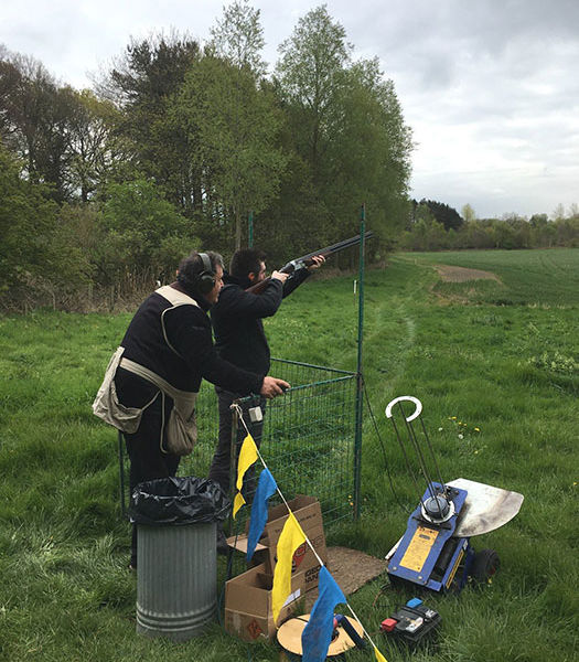 Clay shooting in Durham