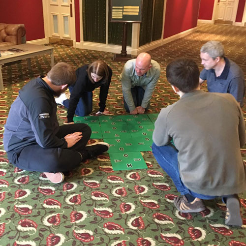 Team building day at Gisborough Hall