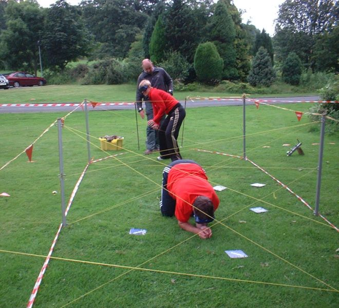 Team building event at Linden Hall Northumberland