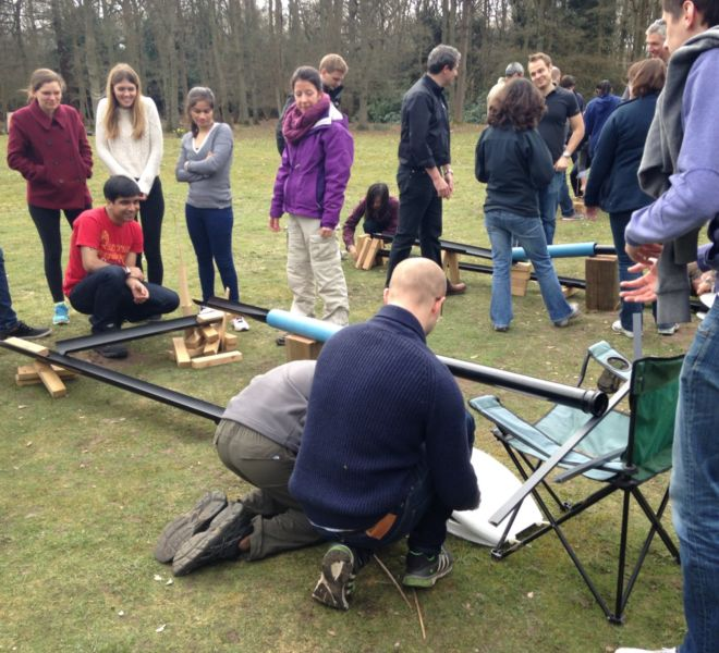 rollerball-team-building-game