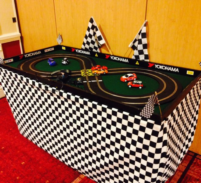 Scalextric hire