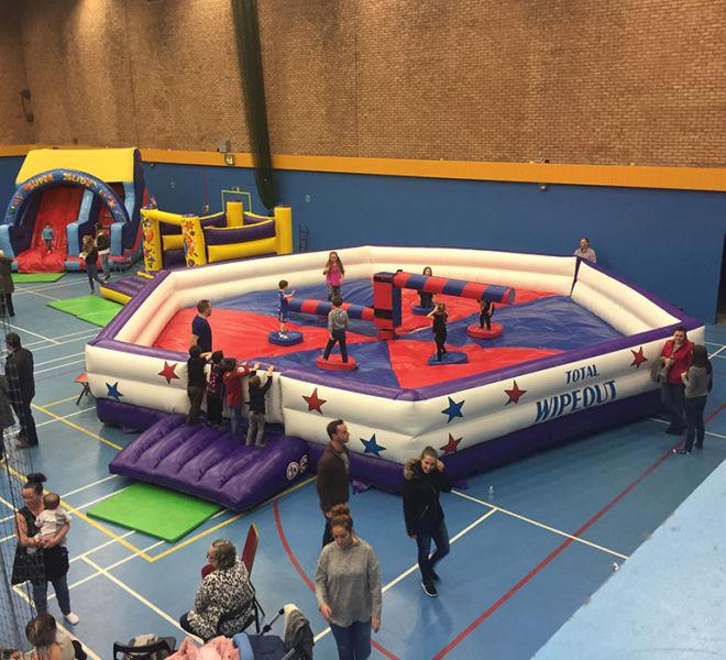 Indoor inflatable fun