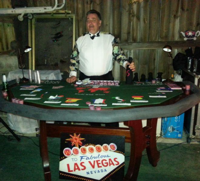 Birthday party casino hire