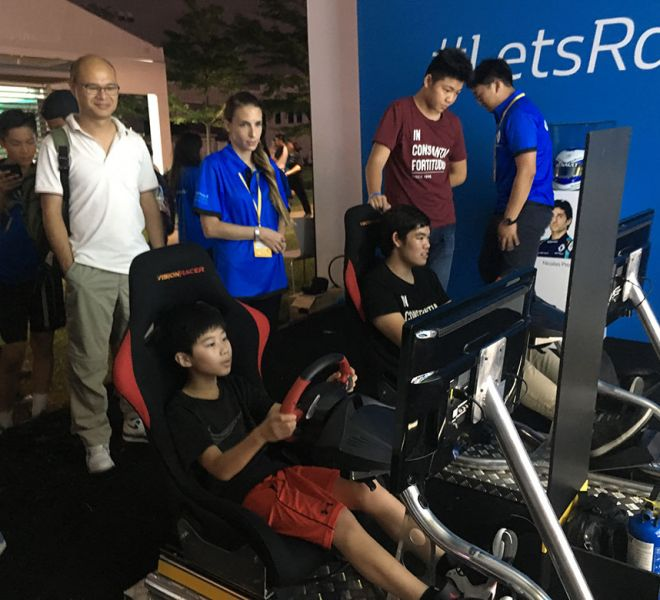 Flight Friendly Racing Simulators with Renault Hong Kong