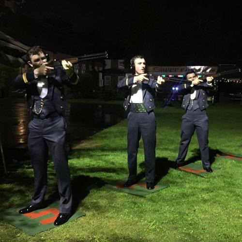 Floodlite Laser Clay Pigeon Shooting York