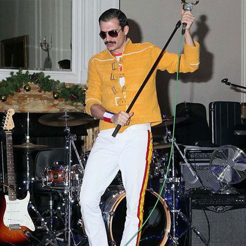 Freddie Mercury look alike at Crathorne Hall